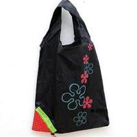 Jahůdková nákupní taška (Černá)