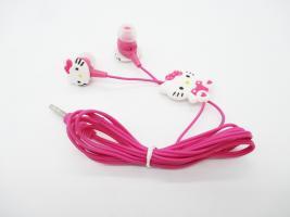 Sluchátka Hello Kitty - bílá