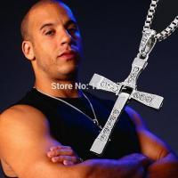 Řetízek na krk s křížem - Dominic Toretto - Rychle a zběsile (Zlatý)