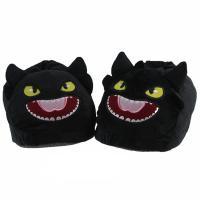 Papuče Bezzubka černé